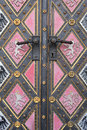 Fragment Of Door Of The Cathedral Royalty Free Stock Photography - 39670757