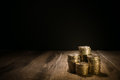 Piles Of Gold Coins Stock Image - 39684451