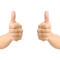 Hand Thumb Up Like Concept Isolated Stock Images - 39692834