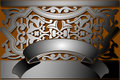 Steel Banner Classic Style. Royalty Free Stock Photos - 3971268