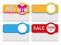 Label, Tag, Sticker And Card Template Royalty Free Stock Image - 39701686
