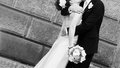 Bride And Groom Kiss Royalty Free Stock Image - 39701906