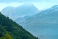 Cloudy Summer Mountain View (Norway) Stock Image - 39714361