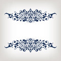 Vintage Border Frame Decorative Ornate Calligraphy Vector Stock Photo - 39719890