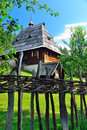 Preserved Traditional Balkans Medieval Village In Sirogojno, Zlatibor, Serbia Royalty Free Stock Photo - 39720145
