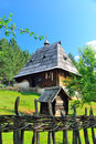 Preserved Traditional Balkans Medieval Village In Sirogojno, Zlatibor, Serbia Royalty Free Stock Photo - 39720155