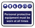 Health And Safety Sign Royalty Free Stock Image - 39725016