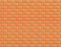 Seamless Vector Brick Wall - Background Pattern Royalty Free Stock Photo - 39736635