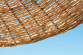 Background  Rattan Parasol Of Wicker Stock Photography - 39751822