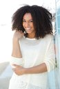Pretty Young Woman Smiling Stock Photos - 39752433