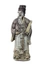 Old Wise Man Statue Royalty Free Stock Photo - 39753085