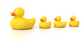 Rubber Duck Family Stock Images - 39761914