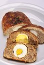 Minced Roast With Hard Boiled Egg Royalty Free Stock Image - 39768256