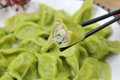 Green Chinese Dumpling Royalty Free Stock Photo - 39773795