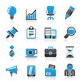 Business And Office Icons Stock Photo - 39792680