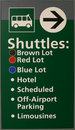 Airport Shuttle Sign Stock Photo - 3983230