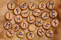 Rune Set Royalty Free Stock Photography - 3986147