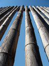Bamboo Wall Royalty Free Stock Photography - 3986907