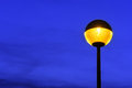 Lamppost At Twilight Royalty Free Stock Photography - 39813257