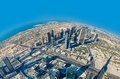 Dubai Downtown. East, United Arab Emirates Architecture. Aerial Royalty Free Stock Photo - 39815505
