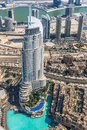 Dubai Downtown. East, United Arab Emirates Architecture. Aerial Royalty Free Stock Photos - 39815628