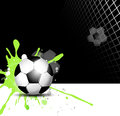 Soccer Ball Background Royalty Free Stock Photos - 39829858
