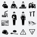Engineering Icons Set Royalty Free Stock Images - 39850969