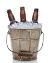 Old Fashioned Beer Bucket Closeup Royalty Free Stock Image - 39852366