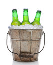 Old Fashioned Beer Bucket Royalty Free Stock Photos - 39852368