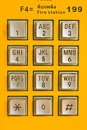 Button Number Public Telephone Stock Photo - 39868180