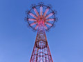 Coney Island Parachute Jump Royalty Free Stock Images - 39882829