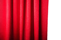 Abstract Background, Curtain, Drapes Red Fabric. Stock Photos - 39886093