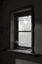 Old Dusty Barn Window Stock Images - 39888444