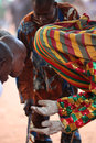 Dancer At An Ceremony In Benin Royalty Free Stock Photos - 39894078