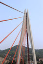 The Dongshuimen Cable-stayed Bridge Stock Photo - 39908010