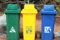 Recycle Bin In The Park Royalty Free Stock Photo - 39922065