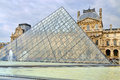 External View Of The Louvre Museum (Musee Du Louvre) Royalty Free Stock Image - 39940916