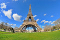 Daylight View Of The Eiffel Tower (La Tour Eiffel), Is An Iron Lattice Tower Located On The Champ De Mars Royalty Free Stock Photos - 39942668