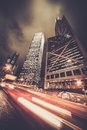 Modern City At Night Stock Images - 39967554