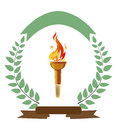 Olympic Torch Royalty Free Stock Images - 39980499