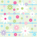 Seamless Floral Pattern, Wallpaper Royalty Free Stock Photography - 39991087