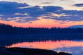 Reflections Of The Sky Before The Rising Sun Royalty Free Stock Images - 39998949