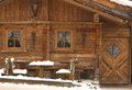 Wooden Hut In Winter Royalty Free Stock Photos - 4002718