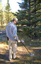 Metal Detecting Royalty Free Stock Photography - 4004767