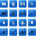Bug Buttons Royalty Free Stock Images - 4007039