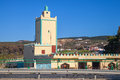 Modern Yellow Mosque Building. Tangier, Morocco Stock Photography - 40021702