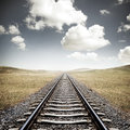 Railway Tracks Royalty Free Stock Photo - 40026525