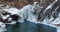 Frozen Waterfall Stock Images - 40033764