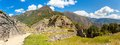 Panorama Of Mysterious City - Machu Picchu, Peru,South America. The Incan Ruins. Royalty Free Stock Photography - 40040547