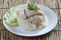 Steam Chicken With Rice Royalty Free Stock Images - 40044019